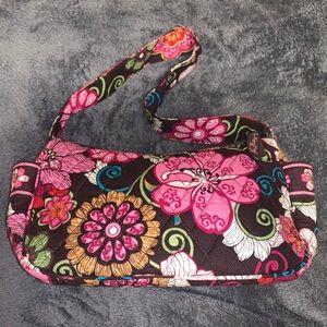 Vera Bradley Floral Handbag Purse